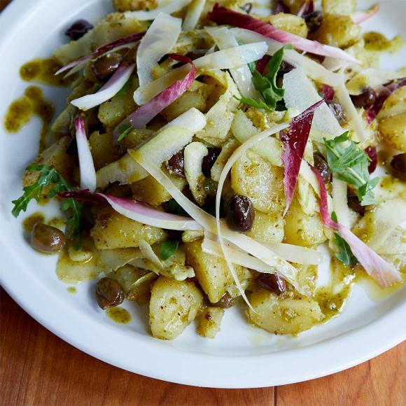ピスタチオと青リンゴのポテトサラダ